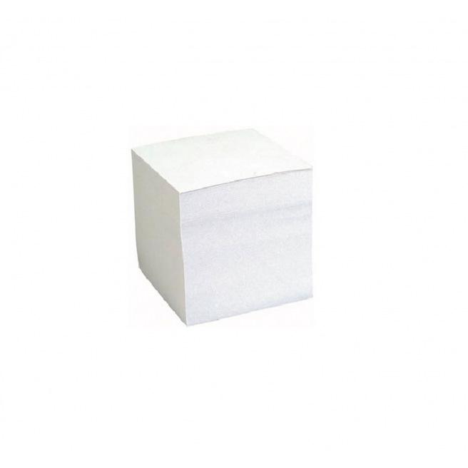 Bloc cube de papier encollé 9 x 9 cm