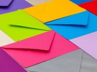 Enveloppes de luxe & de couleur