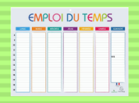 Plannings & calendriers scolaires