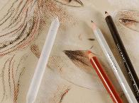 Crayons, pastels & fusains