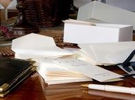 Papier & enveloppes de luxe